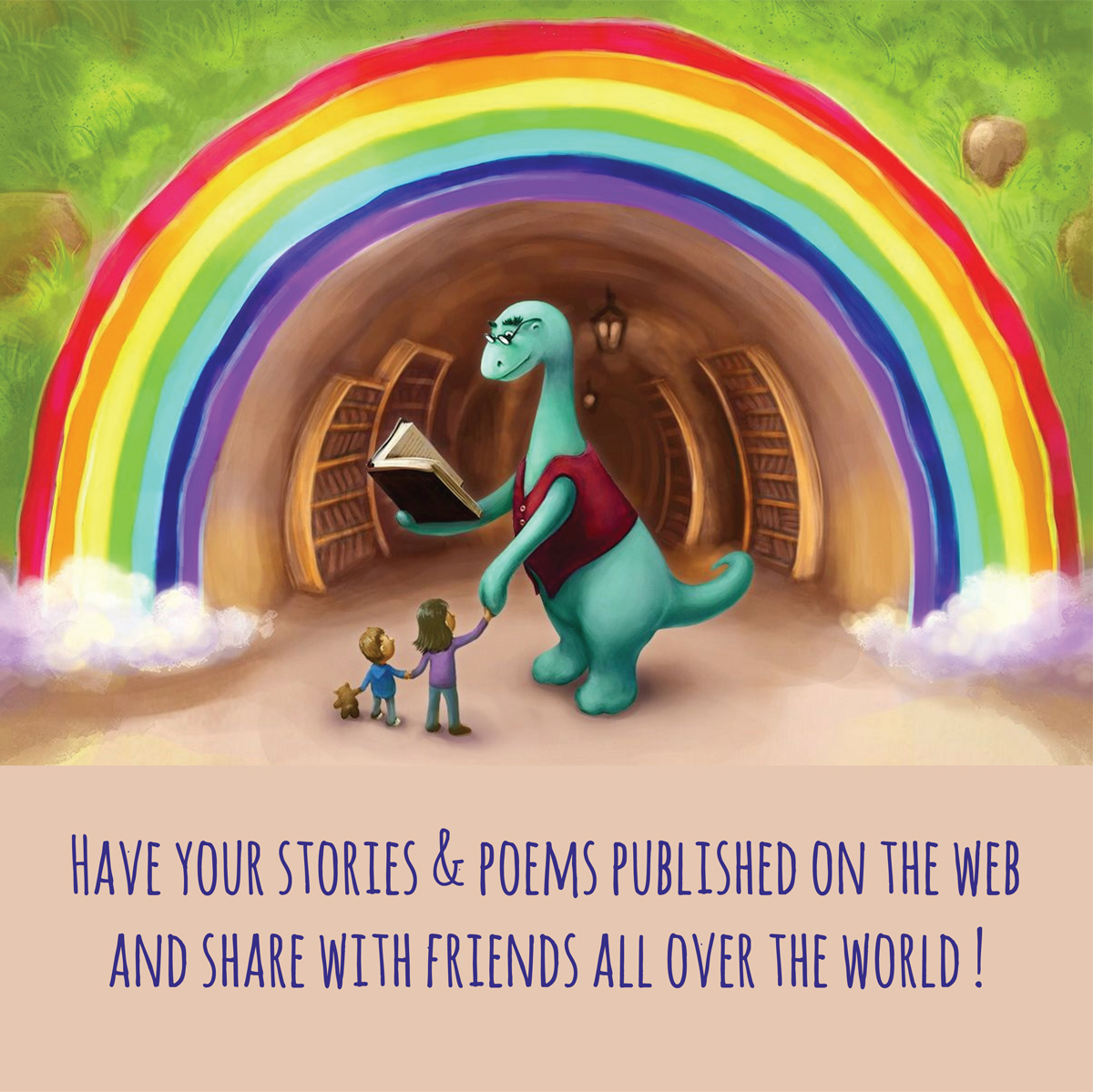 Litrasaurus: have your stories published on the web and share with friends all over the world